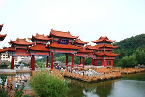 华夏城景区