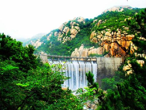 嶗山風景八水河